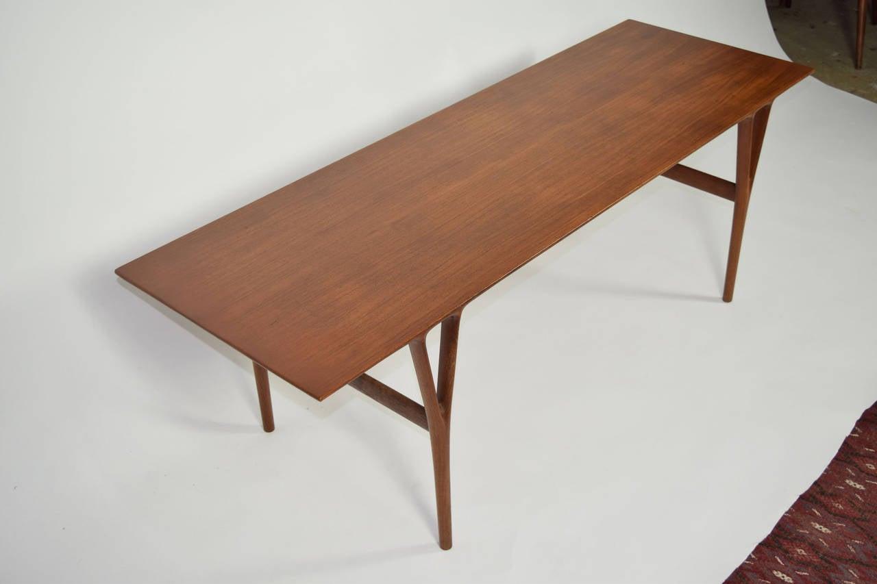 Scandinavian Modern Coffee Table by Helge Vestergaard-Jensen For Sale
