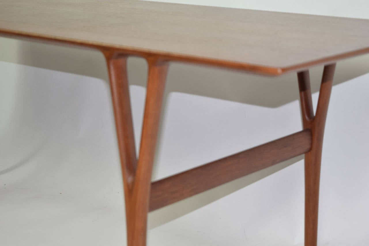 Mid-20th Century Coffee Table by Helge Vestergaard-Jensen For Sale