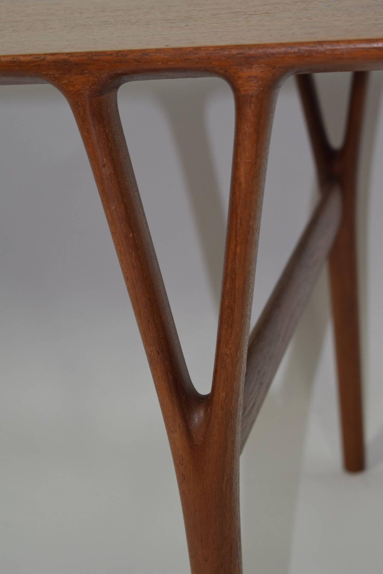 Coffee Table by Helge Vestergaard-Jensen For Sale 1