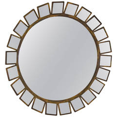 Bronze Soleil Mirror by Formations