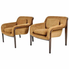 Pair of Bill Stephens Lounge Chairs by Knoll