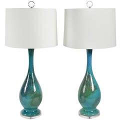 Royal Haegar Etruscan Lamps