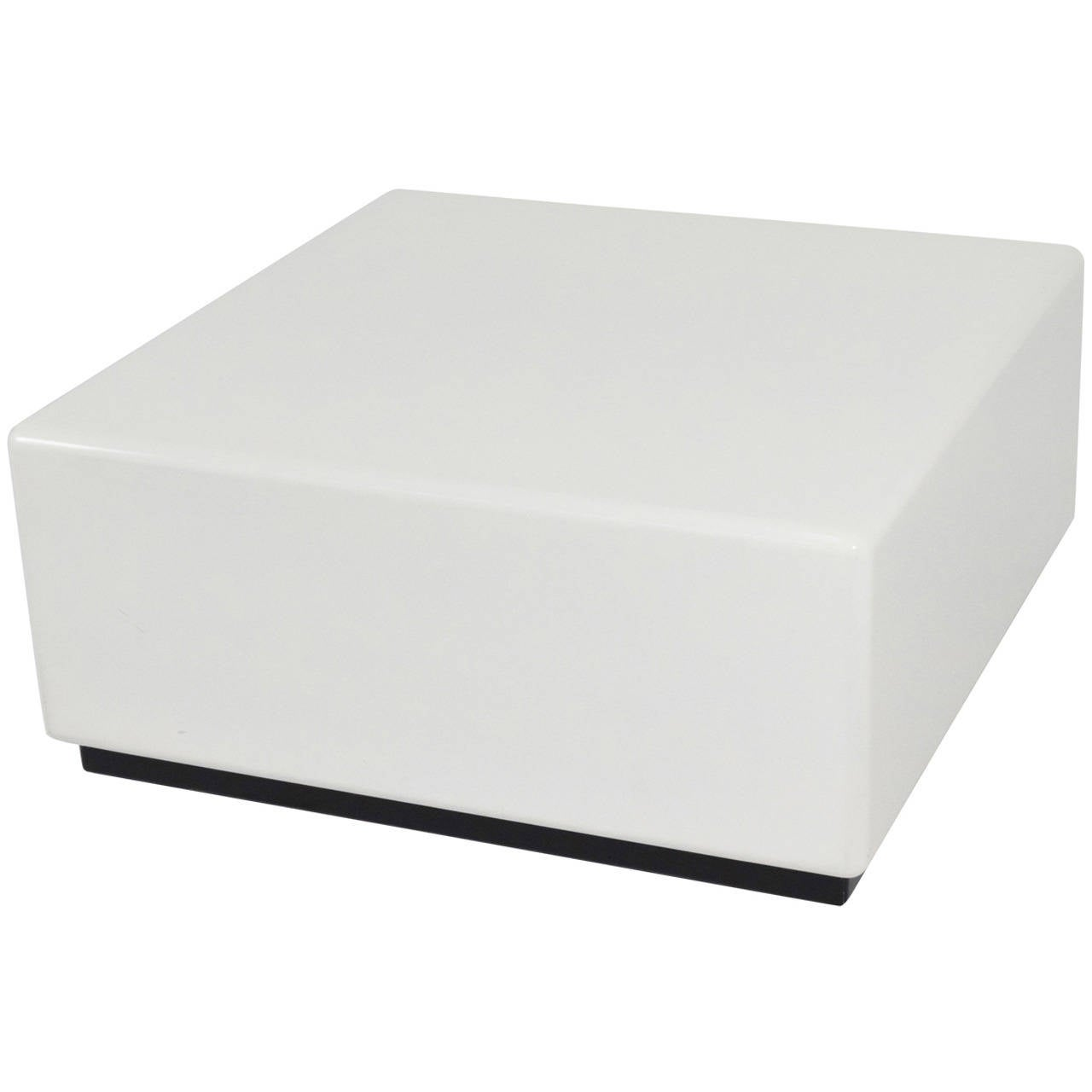 Milo Baughman Cube Style Coffee Table For Sale At 1stdibs