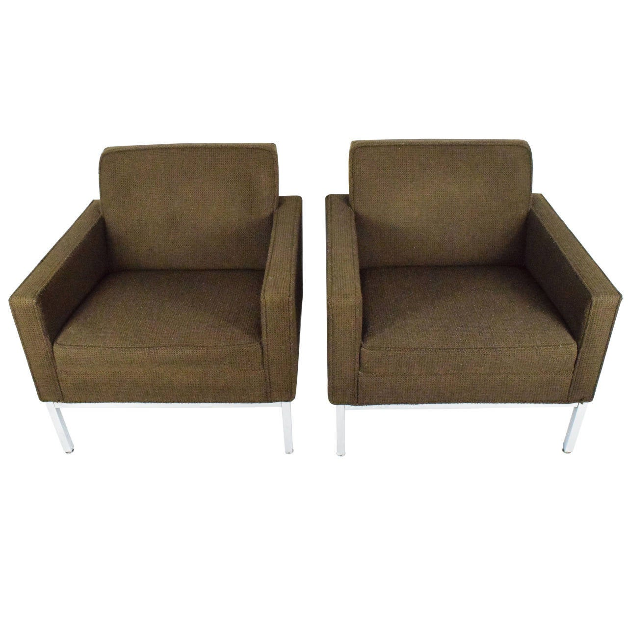 Steelcase lounge chairs - Pair Of Steelcase Lounge Chairs 1