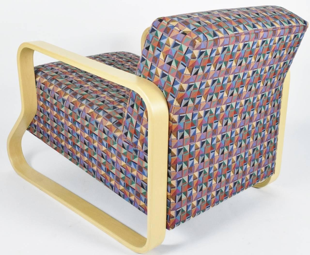 Alvar Aalto for Artek Lounge Armchair 44 For Sale 1