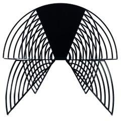 Wings of Steel Sculptural Chair, Designed by Laurie Beckerman in 2012