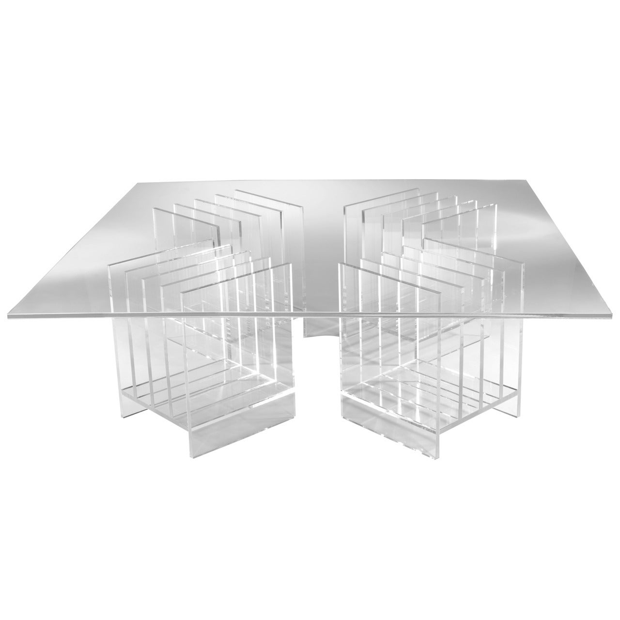 Sheer Coffee Table, Designed by Laurie Beckerman in 2011