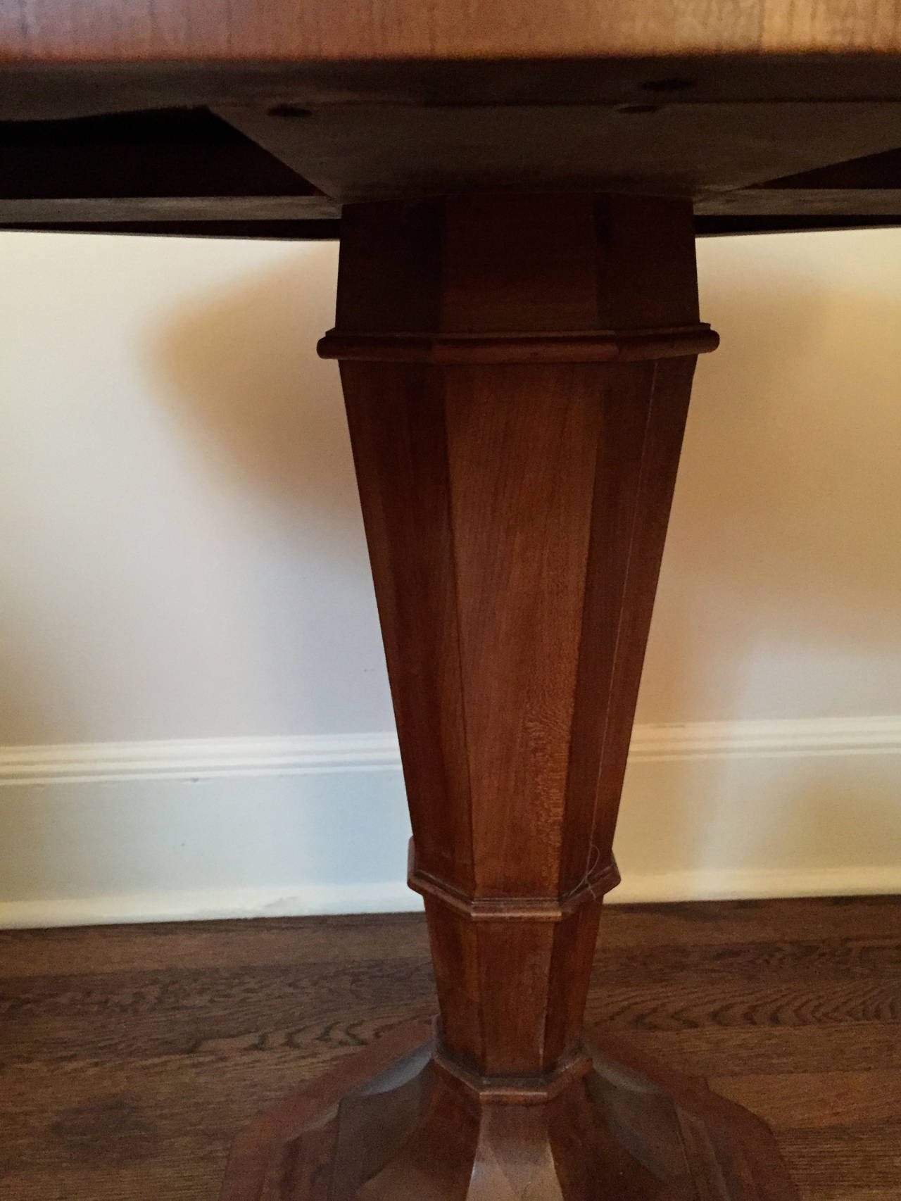 impressive pedestal co century display octees plant carved column antique oak hand for uk sale stand