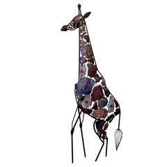 Large Mid Century Brutalist Giraffe Sculpture