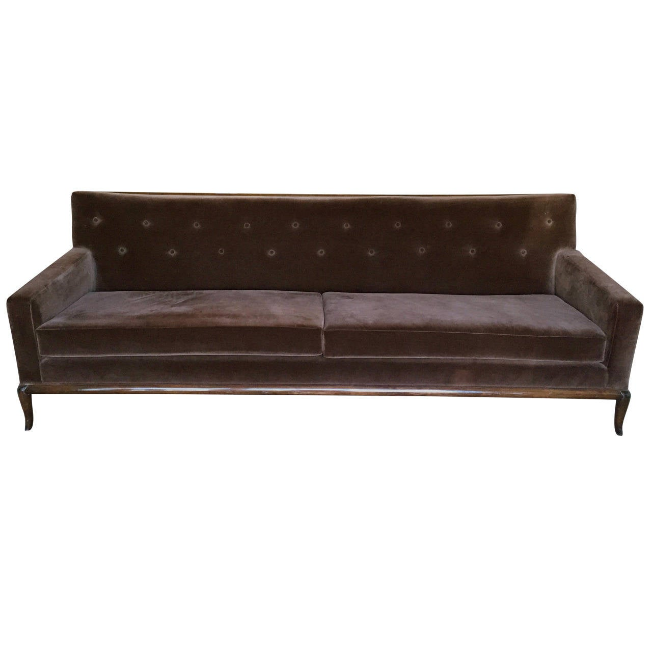 T.H. Robsjohn-Gibbings For Widdicomb Sofa For Sale At 1stdibs