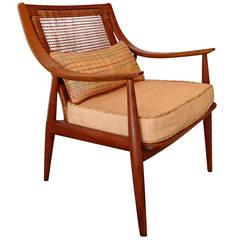 John Stuart for Widdicomb Caned-Back Armchair