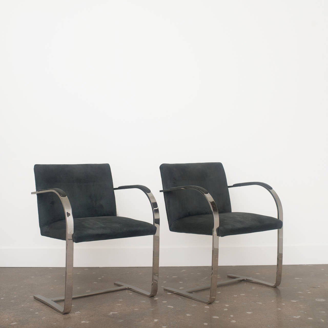 mies van der rohe brno chairs at 1stdibs. Black Bedroom Furniture Sets. Home Design Ideas