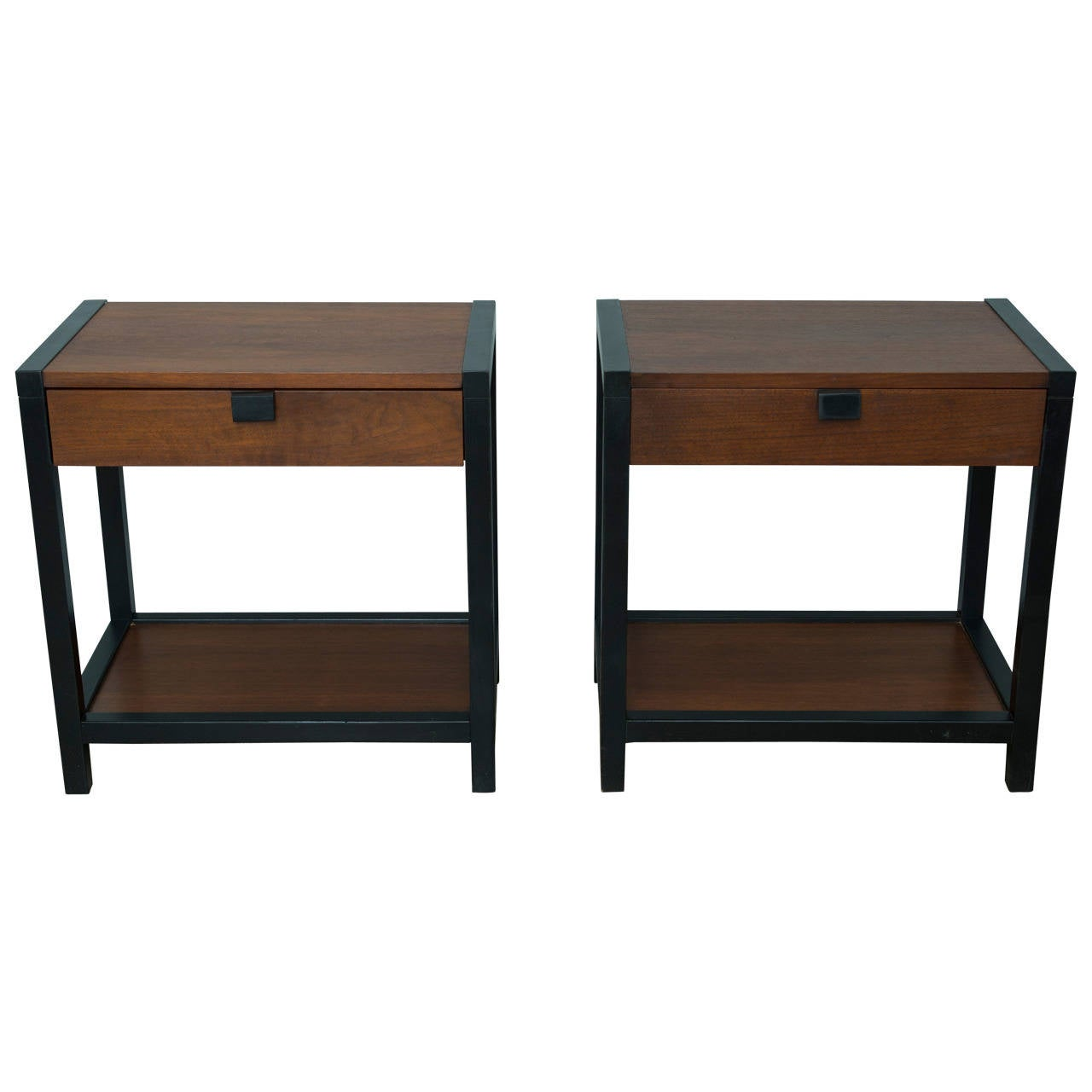 Milo Baughman For Directional End Tables At 1stdibs