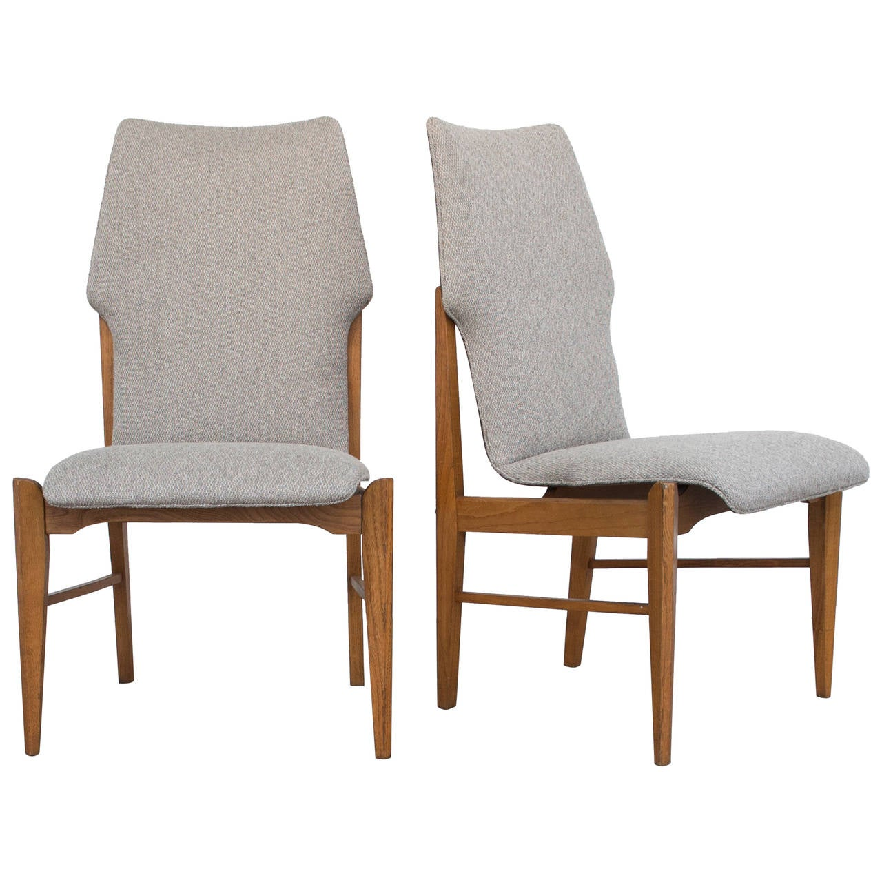 Four kodawood danish modern dining chairs at 1stdibs for Modern dining furniture