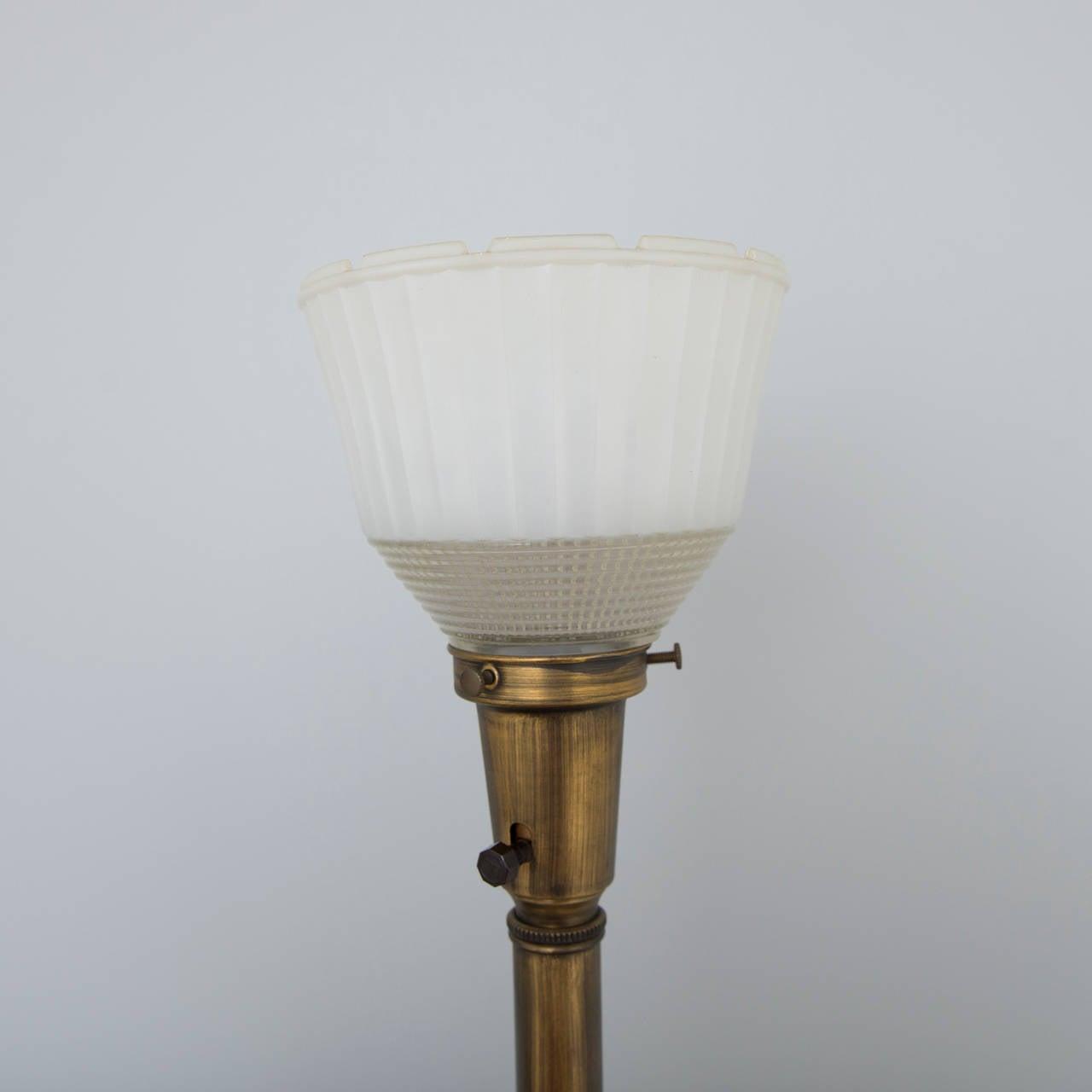 Hollywood Regency Brass Leaf Form Lamps 4