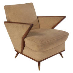 Italian Mid-Century Modern Club Chair