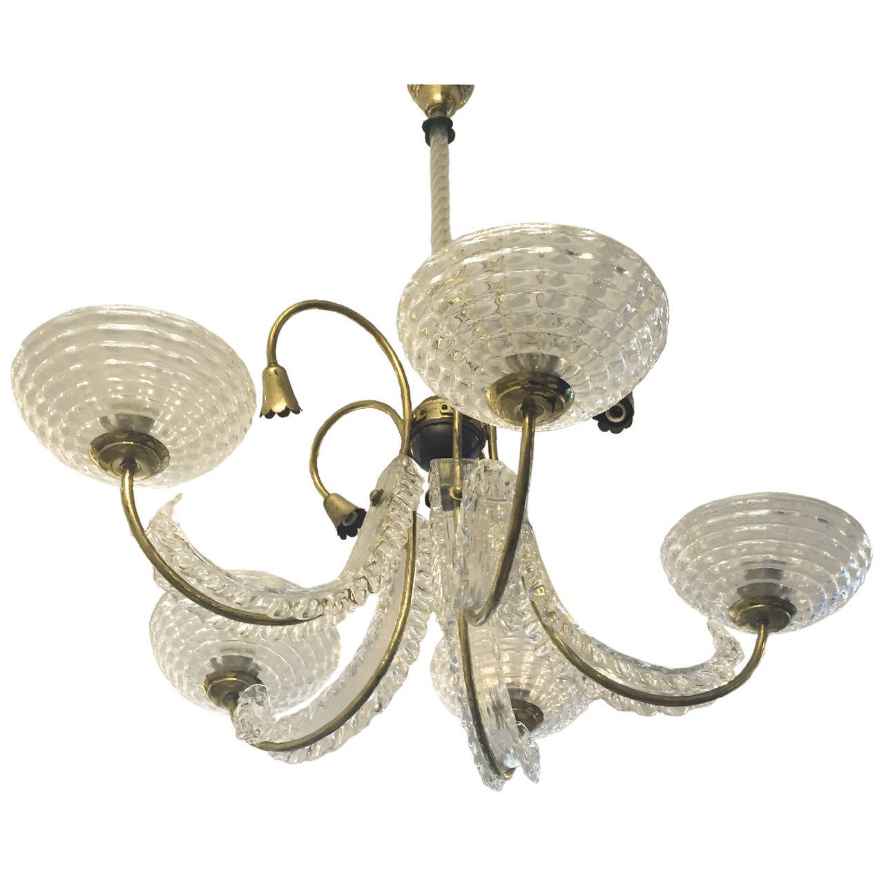 glass octopus chandelier squid italian 1940s barovier and toso chandelier having one drop light five curved arms top brass glass chandelier by for sale at 1stdibs