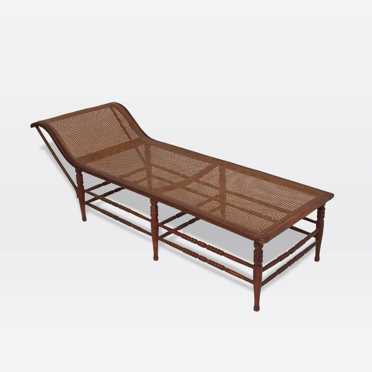 Dutch colonial chaise lounge at 1stdibs for Chaise de calvin