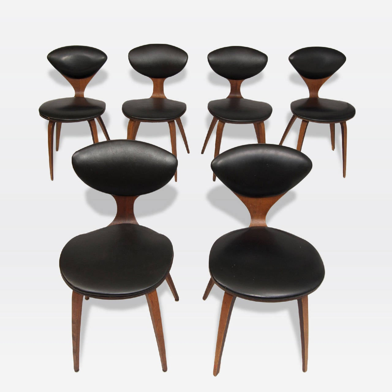 Mid-Century Modern Norman Cherner Chairs For Sale