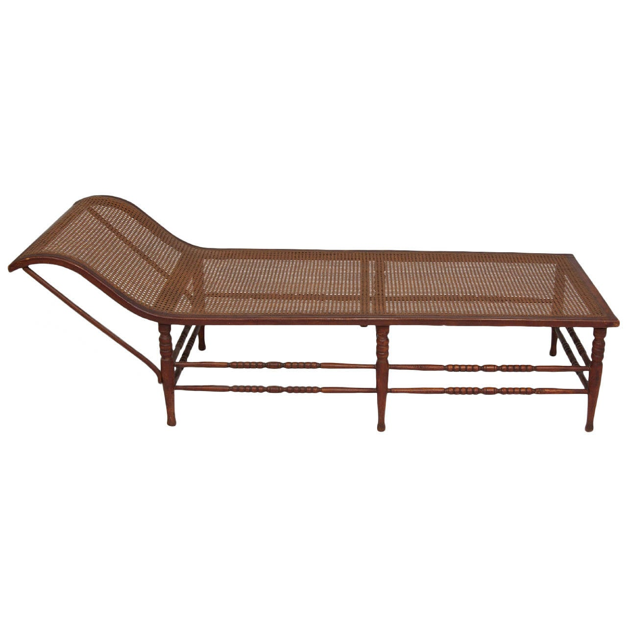 Dutch colonial chaise lounge at 1stdibs - Chaise style colonial ...