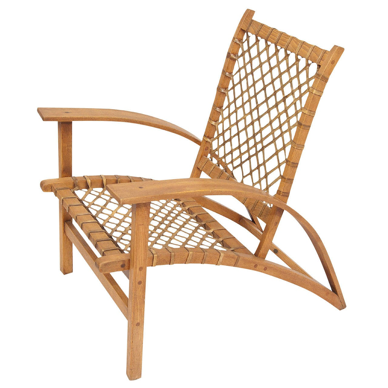Quot Sno Shu Quot Vermont Tubbs Armchair For Sale At 1stdibs