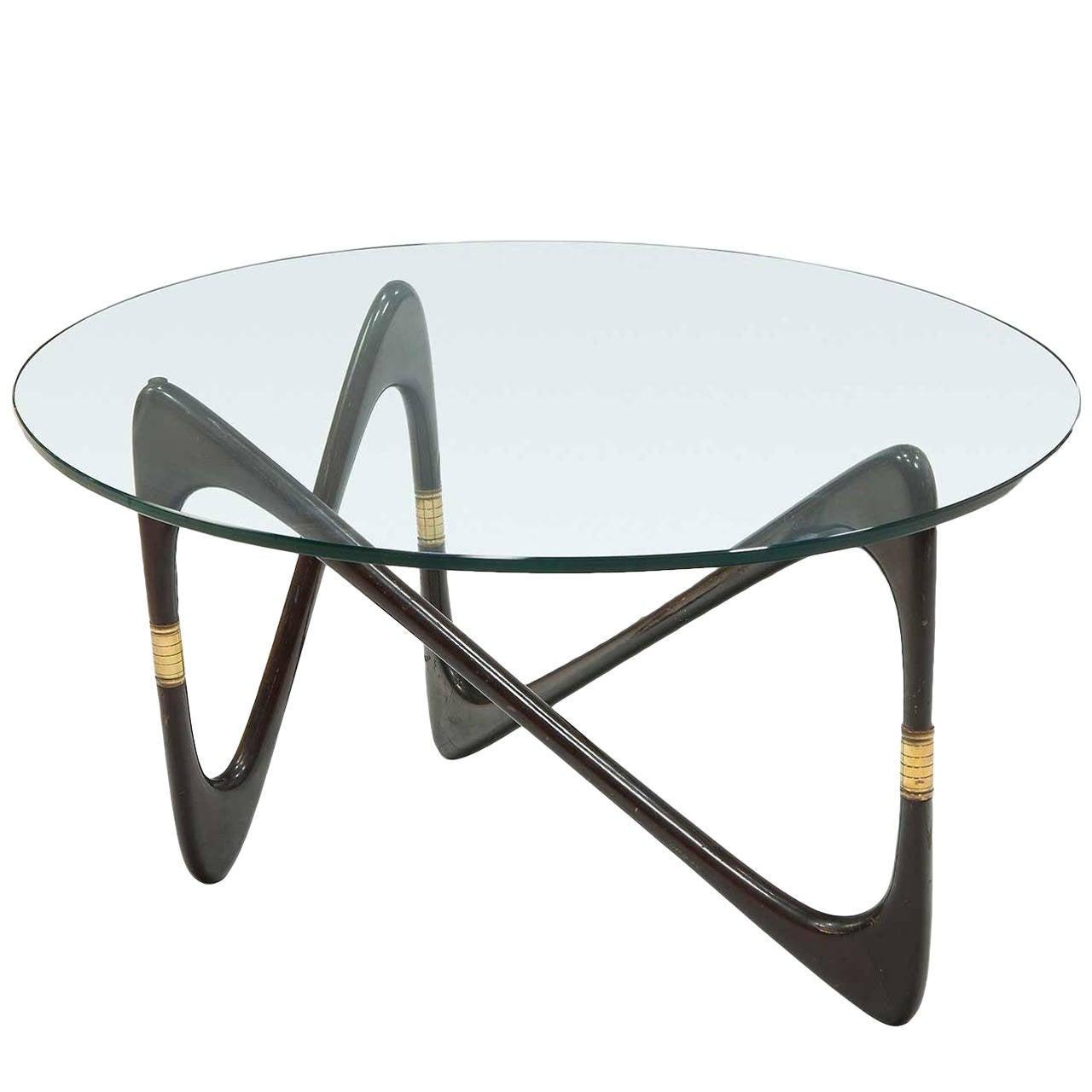 Italian Coffee Table 1950s Italian Coffee Table By Cesare Lacca At 1stdibs