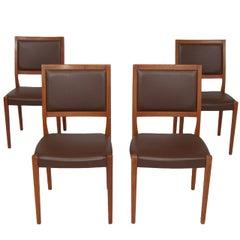 Svegards Markaryd Set of Four Teak Dining Chairs