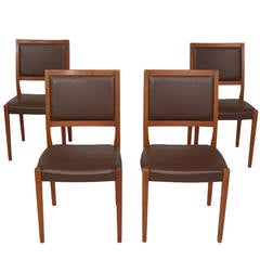 Svegards Markaryd Set of Four Teak Dining Chairs