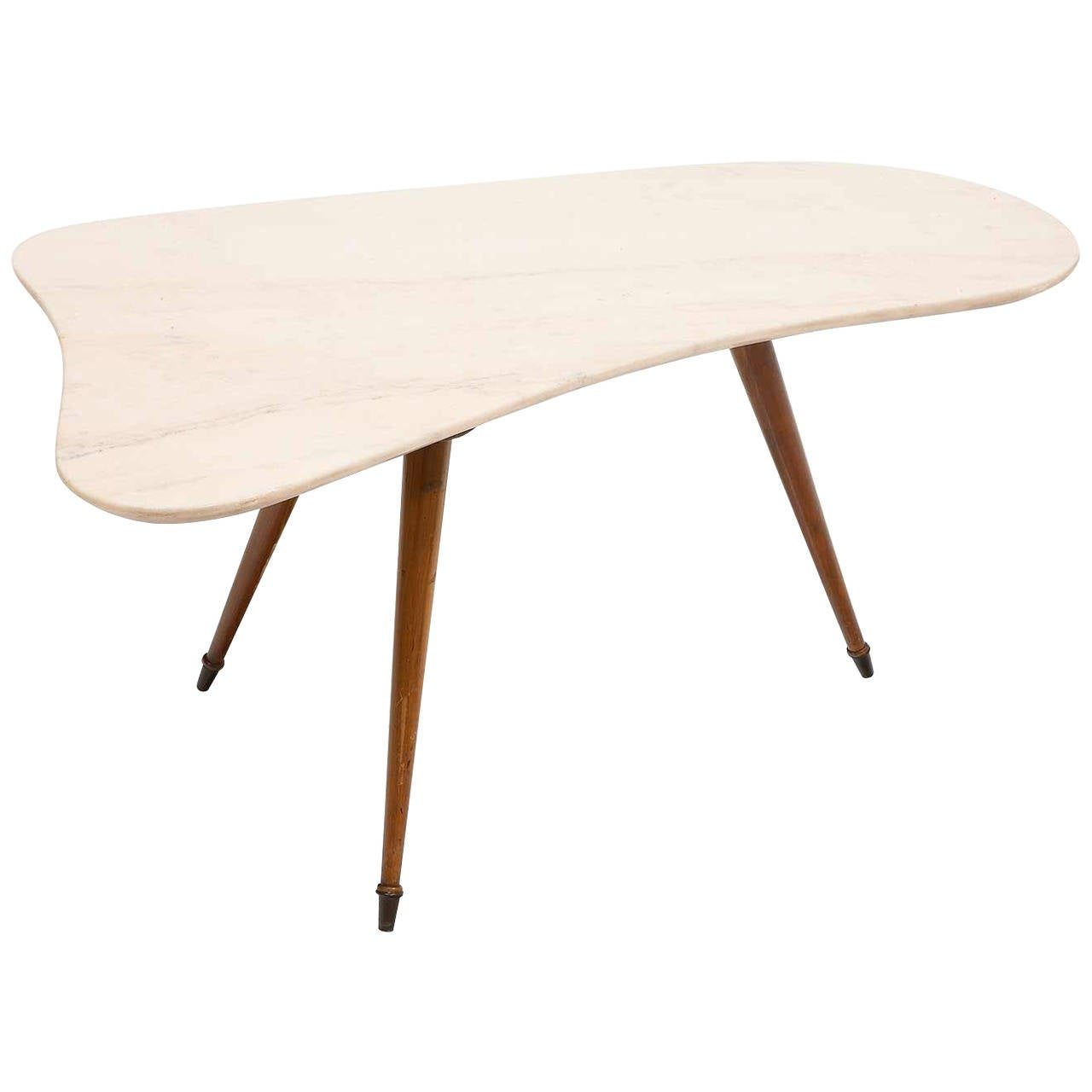 1950s Italian Marble Coffee Table At 1stdibs