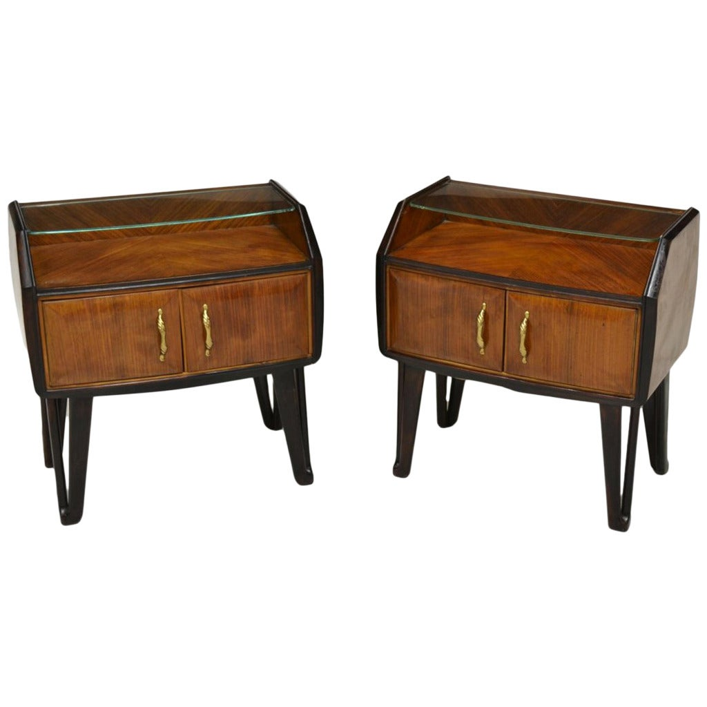 Italian 1950s Nightstands