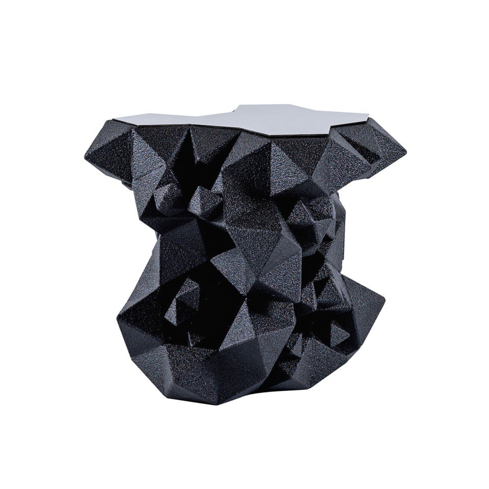 Geometric Side Table/End Table from the Primitive Series by Aranda\Lasch