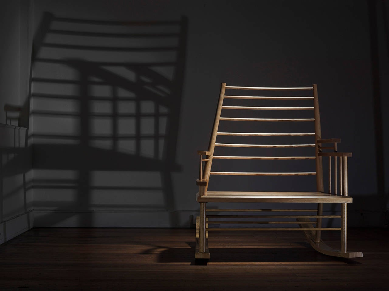 Chinese Man's File is a rocking chair designed for the roughly 16,500 Chinese gold diggers who walked from Robe in South Australia to the Victorian goldfields (480 kilometres in as little as 13 days) during the mid-19th Century. The rocking motion