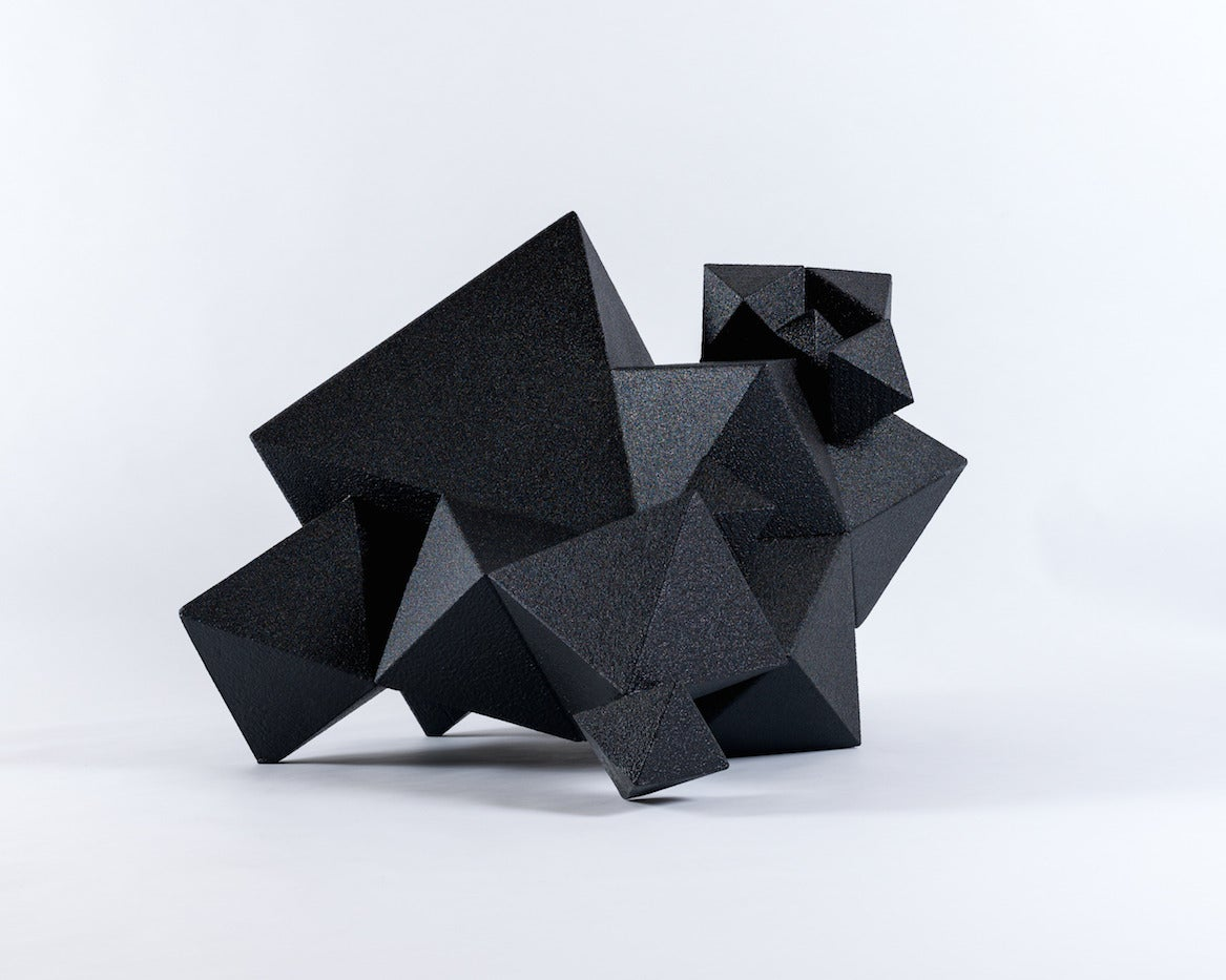 Unique Black Low Chair from Aranda\Lasch's Primitive Series 2