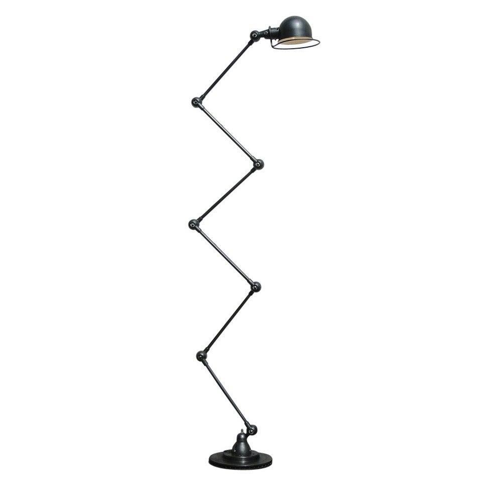 Six-Armed Jielde Floor Lamp For Sale at 1stdibs