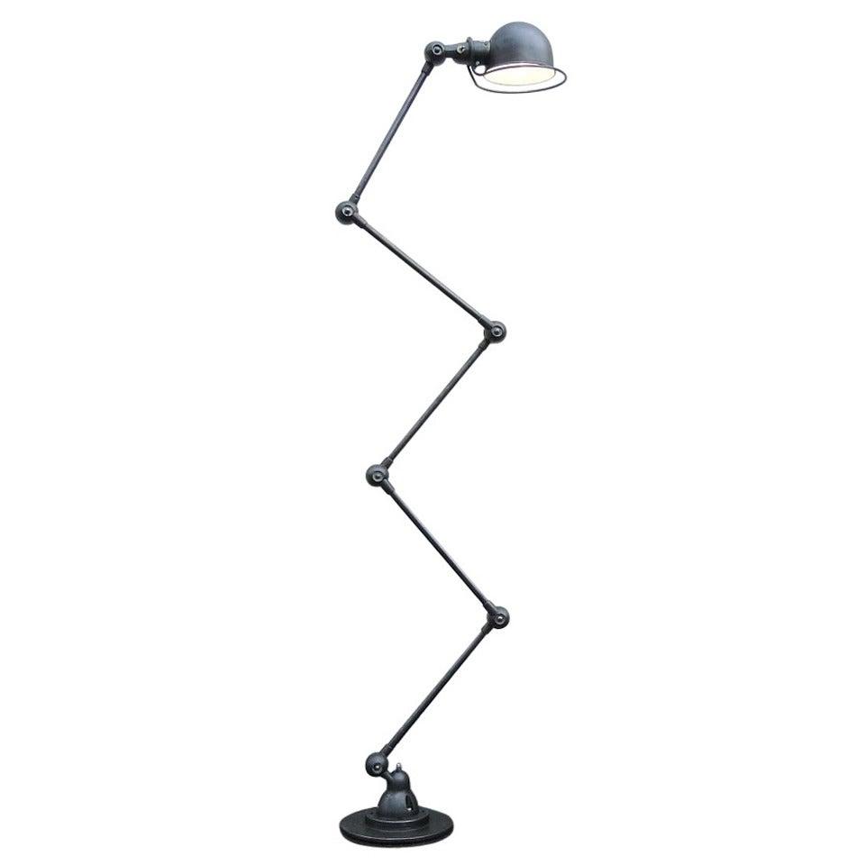 Five-Arm Jielde Floor Lamps For Sale at 1stdibs