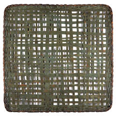 "Monumental ""Tobacco Drying Basket"" Wall Hanging by Jonathan Kline"