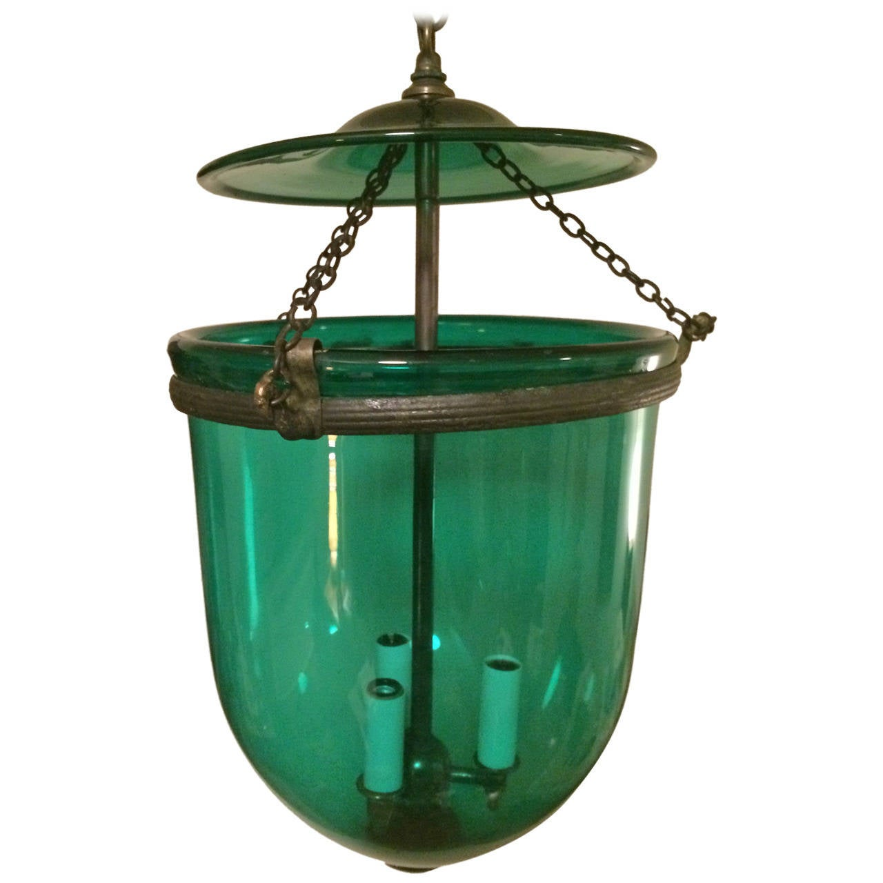 19th Century Anglo Indian Regency Style Hall Lantern