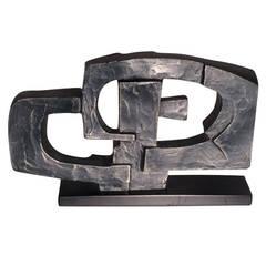 """Dorothy Dehner """"Formulation"""" Sculpture, 1969"""
