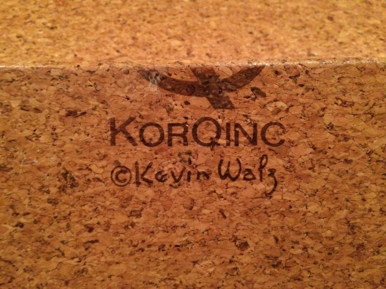 Late 20th Century Signed Kevin Walz