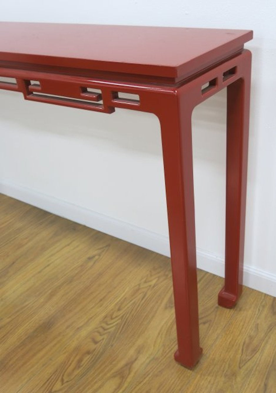 American Mid-Century Modern Chinese Style Console Table at 1stdibs