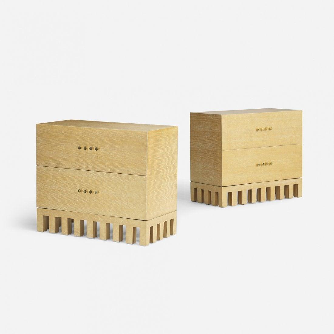 jean michel wilmotte commodes at 1stdibs. Black Bedroom Furniture Sets. Home Design Ideas