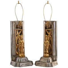 James Mont Figural Table Lamps