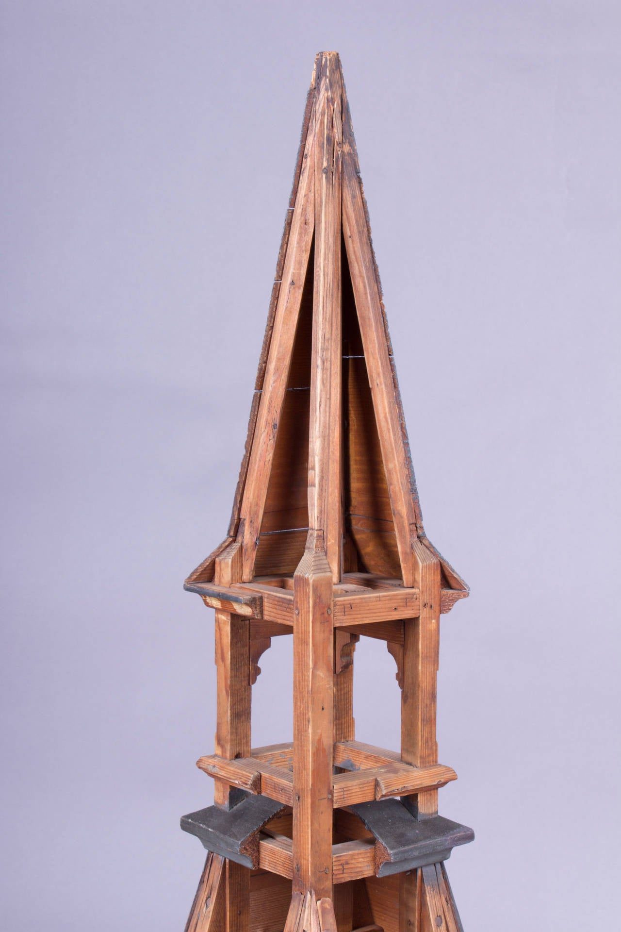 Didactical Architecture Model Of A Tower Circa 1900 For