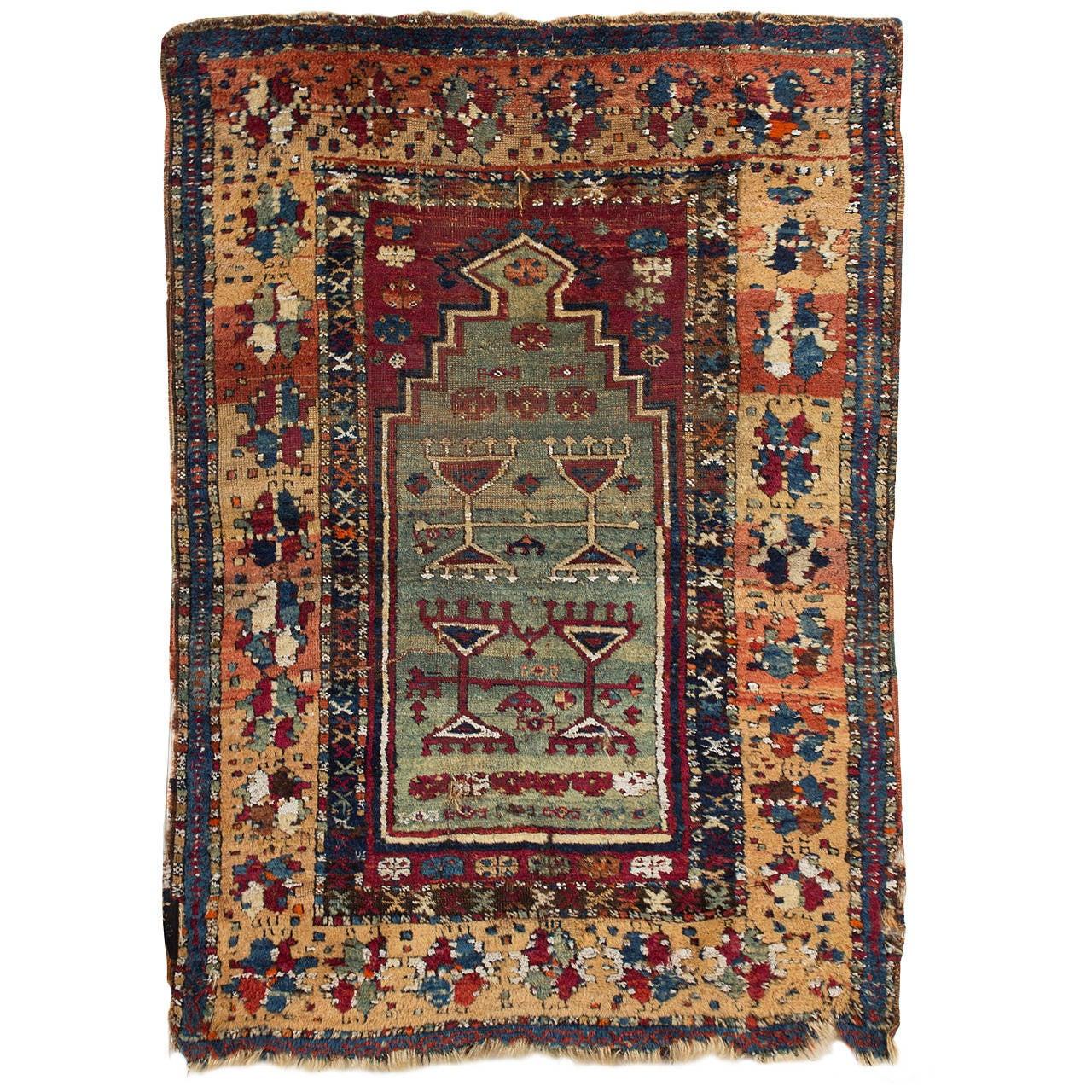 Rare And Antique Anatolian Antep-Malatya Kurdish Yuruk