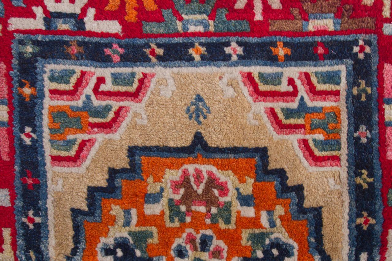 Antique Tibetan Horse Saddle Rug Or Blanket For Sale At