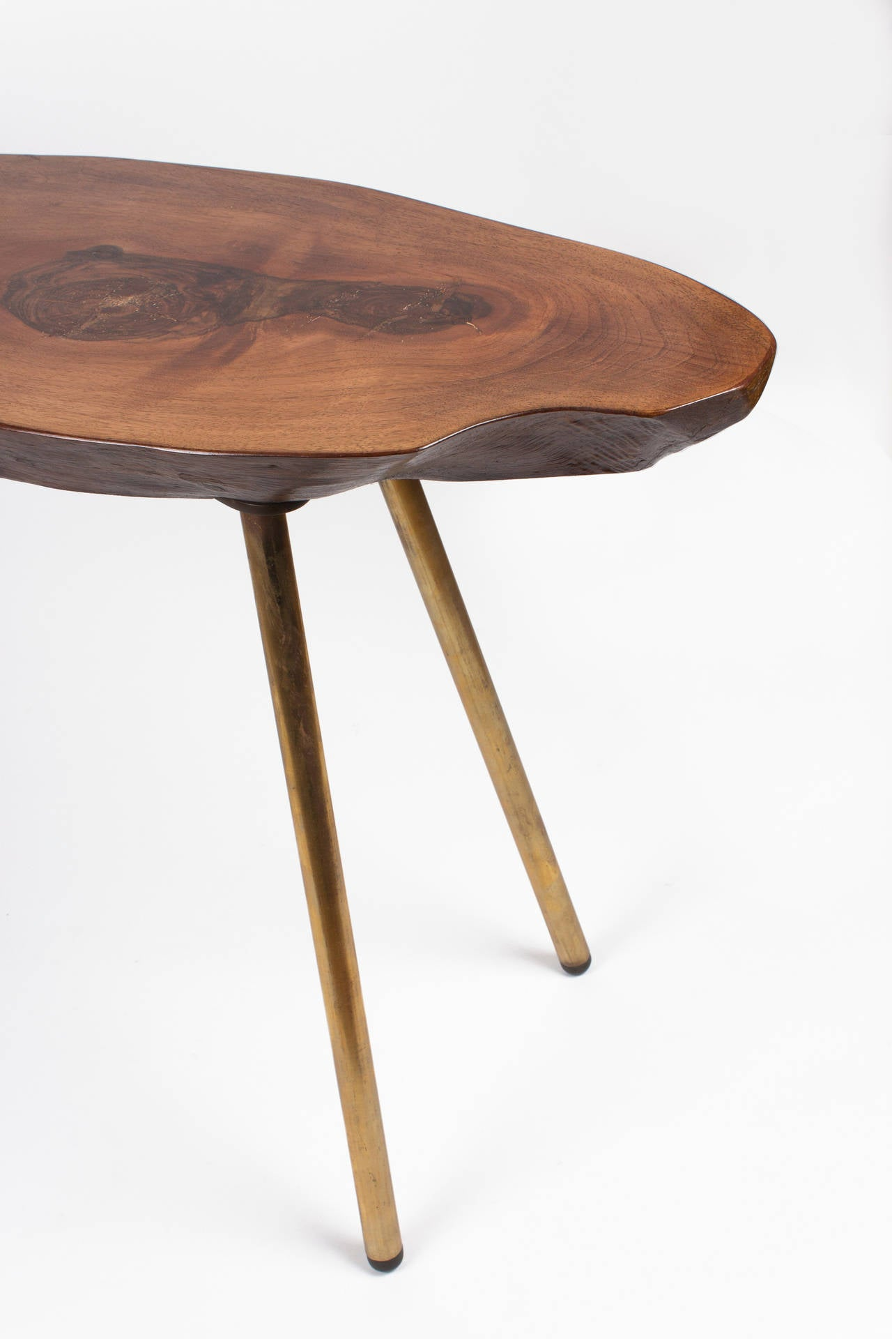A Goldnut Tree Trunk Table By Carl Aub Ck At 1stdibs