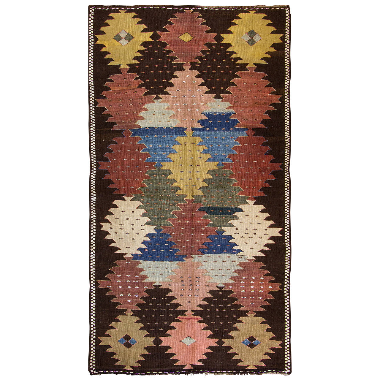 Southwest Persian Kilim Rug, Circa 1920 At 1stdibs