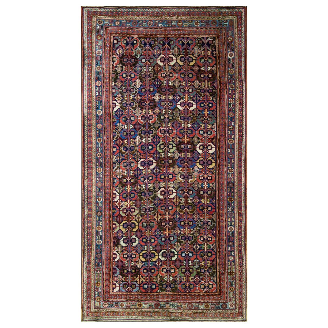 Antique Persian Afshar Carpet