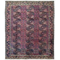 Antique Turkoman Ersari Carpet