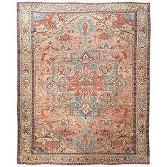 Antique Persian Serapi Carpet, Fine